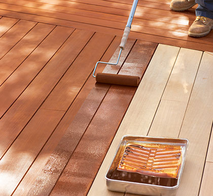 Deck Painting Gallery