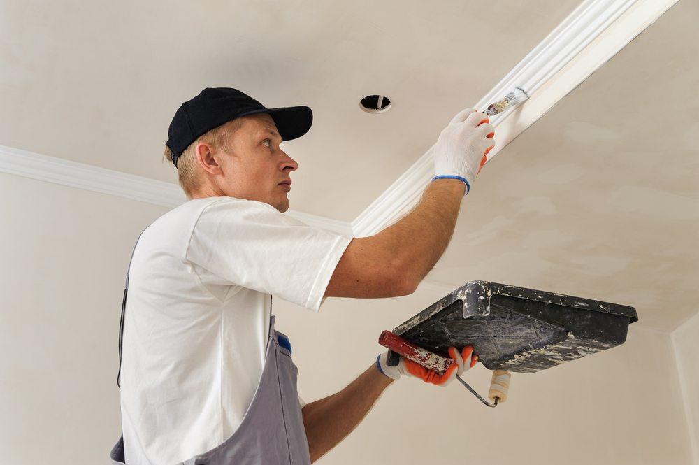 Bad Interior Paint Job